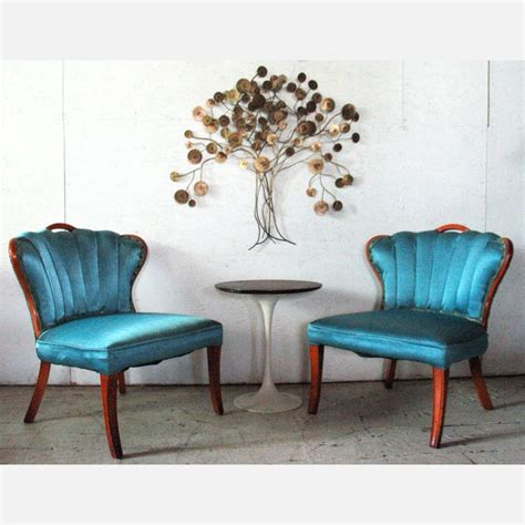 aqua slipper chair 33 best brocante stoelen images on country