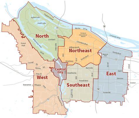 portland oregon school district map geography moving to portland