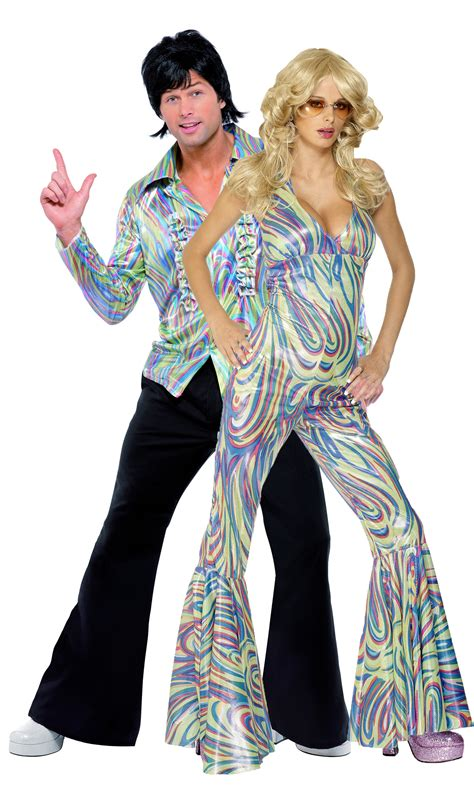 Main Adults Costumes Disco Costumes For Couple   disco costumes for couple