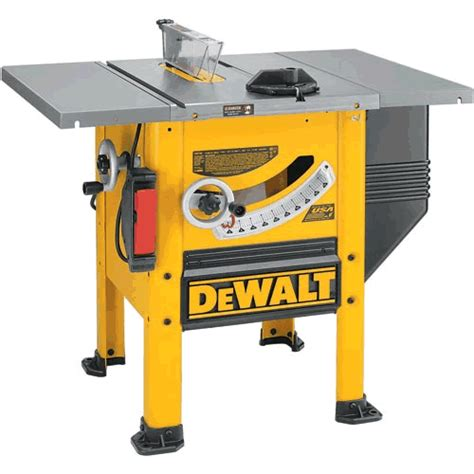 Dewalt Table Saw by Dewalt Dw746 Heavy Duty 10 Quot Woodworker S Table Saw 240