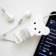 Promo Murah Gulungan Earphone Elephant Style Earphone Cable Organizer earphone tidy http instacanv as robsteadman laser cut earphones wrap and polymers