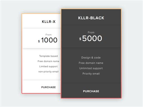Price Plan Concept Free Sketch Freebie Supply | pricing table concept sketch freebie freebie supply