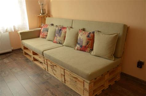 make a pallet couch pallet sofa with drawers 101 pallet ideas
