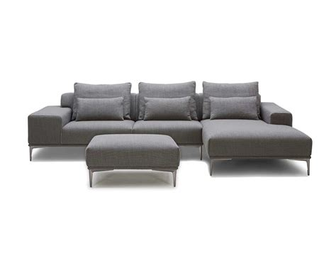 sectional sofa with ottoman grey fabric sectional sofa with ottoman vg638 fabric