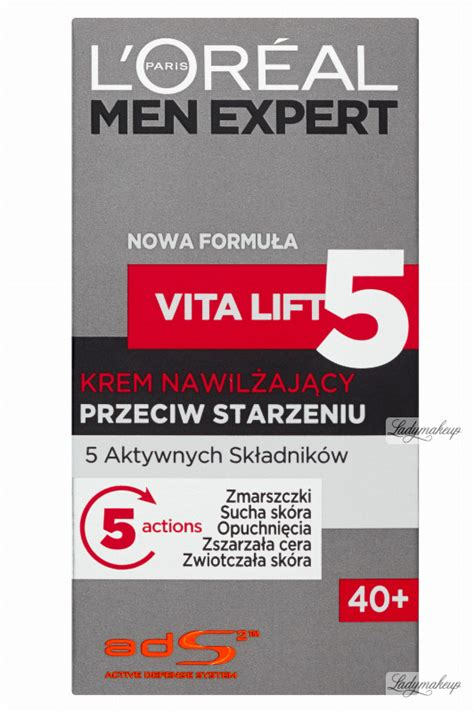 morrisons l oreal expert vita lift 5 moisture 50ml product information l or 233 al expert vita lift 5 daily moisturizer complete anti ageing krem nawilżający