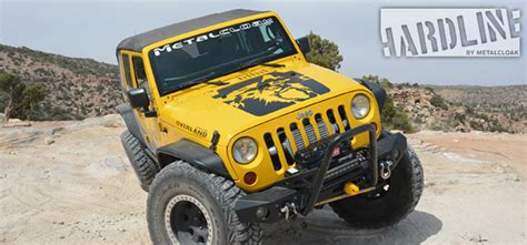 Jeep Wrangler Metalcloak Fenders New Hardline Fenders By Metalcloak Jkowners