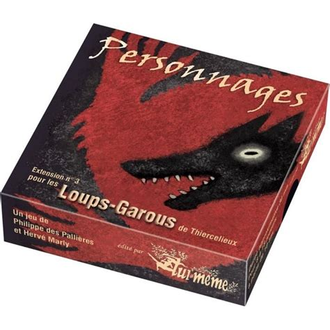 Asmodee Jeu Du Loup by Asmodee Loup Garous Extension Personnages Achat Vente Jeu Soci 233 T 233 Plateau Cdiscount
