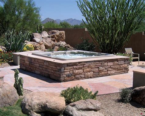 above ground bathtub brick above ground hot tub home ideas collection to do