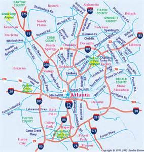maps of metro atlanta