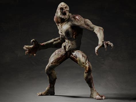 biography of movie creature 3d 3d model rigging skin