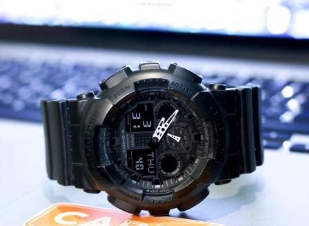G Shock Ga 100 Black Opp3 casio black g shock ga 100 1a1 review