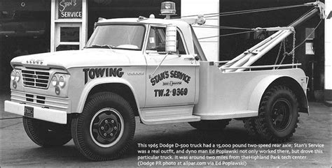 Wedges W200 1965 dodge d 500 tow truck matchbox 1 64