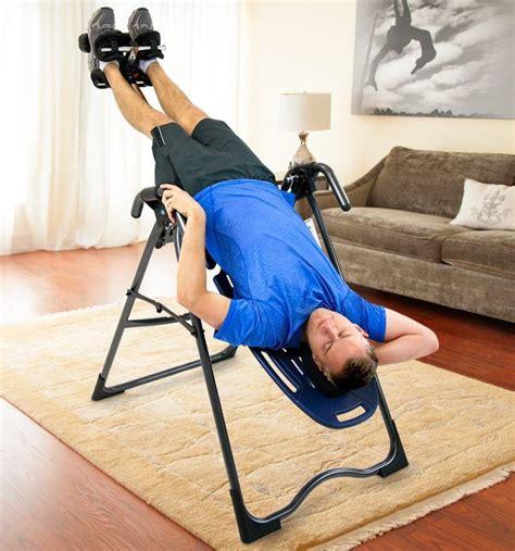 do inversion tables work do inversion tables work for lower back