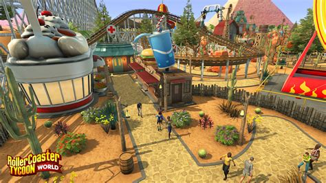 roller coaster world rollercoaster tycoon world s focus on freedom makes it