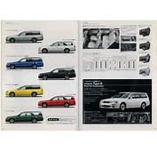 2000 Stagea Sales Brochure &amp Price List  Wagoneers SAU