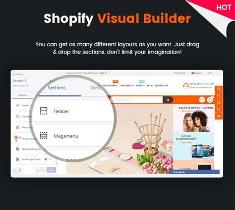 shopify themes with drop down menu revo creative multi purpose responsive shopify drag