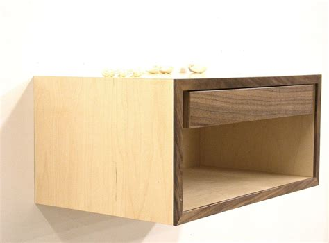 Floating Drawer Nightstand by Remarkable Floating Nightstand Shelf Alluring Interior