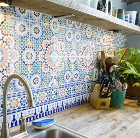 Tiles For Kitchens Ideas marokkanische fliesen faszinierende fotos archzine net