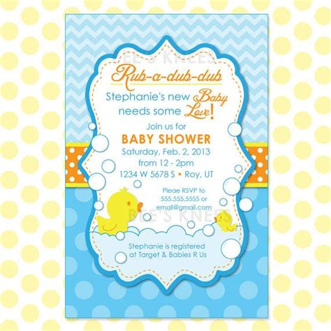 Baby Shower Invitations Rubber Ducky Baby Shower Invitations Template Design Ideas Duck Baby Free Rubber Ducky Baby Shower Invitations Template