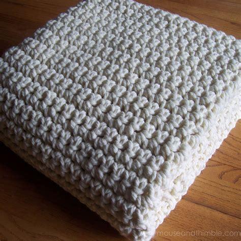 pattern crochet afghan blanket extra large chunky afghan blanket easy crochet pattern