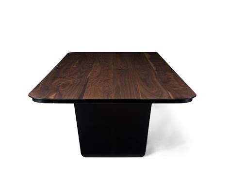 carbon claro table dining tables from tokio furniture