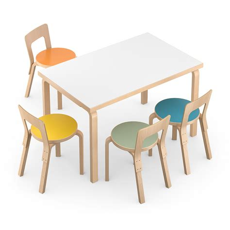 rectangle table and chairs rectangular table and chair 3d model