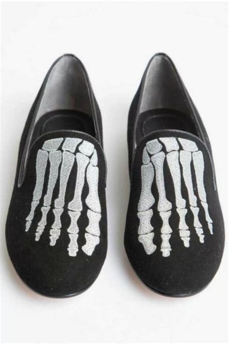 skeleton slippers mara mine jem skull slipper from atlanta by kylee