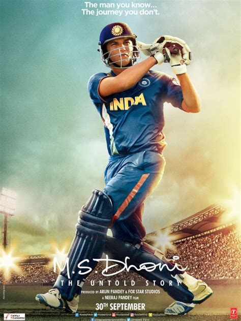 dhoni biography movie release date m s dhoni the untold story 2016 movie full star cast