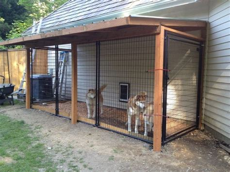 Backyard Kennels by Best 25 Outdoor Houses Ideas On