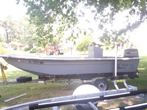 boat and motors for sale eastern nc 17 carolina skiff for sale bmt