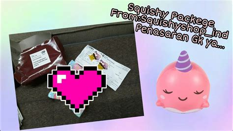 Six Squishy Paket paket squishy from squishy shop ind