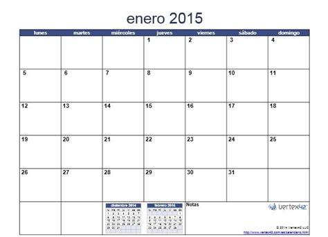 Calendarios Para Imprimir 2015 Calendario Mensual 2015 Para Imprimir Jp Calendarios