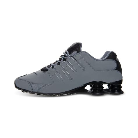 Nike Sneakers S lyst nike mens shox nz eu running sneakers in gray for