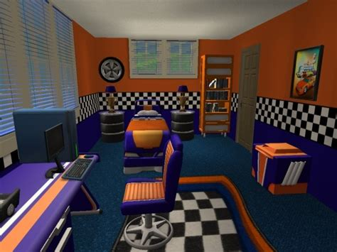 race car bedroom race car bedroom sims 2 interiors race car bedroom and car bedroom