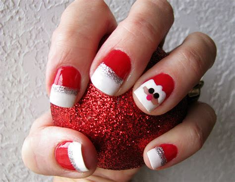 Christmas Decorations Luxury Homes fun and easy santa claus nail designs