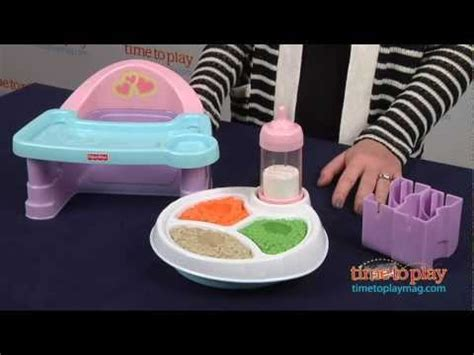 baby alive high chair cupcake servin surprises high chair set from fisher price