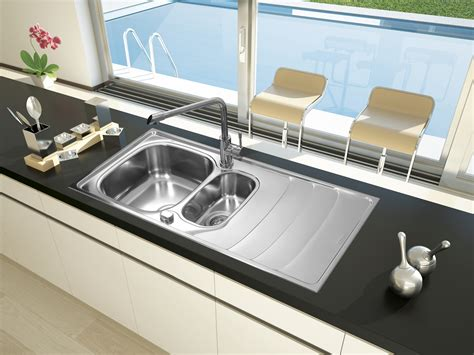 Kitchen Sinks Miami Respekta Stainless Steel Sink Inbuilt Miami 100 X 50