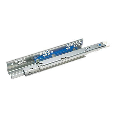 accuride extension side mounted drawer slide with