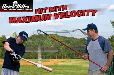 quick swing batting aid the quick hitter baseball hitting aid hittingworld com
