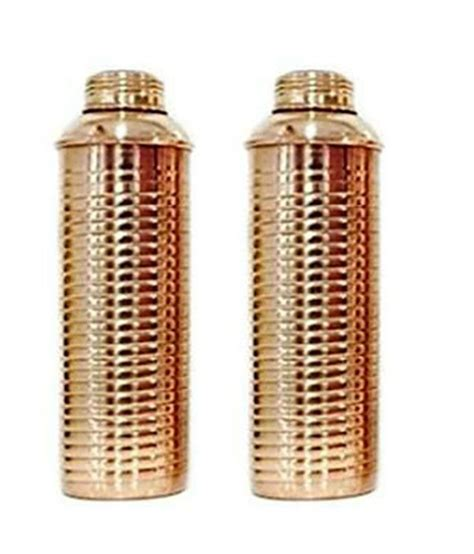 100 Copper Bottle by Terashopee 100 Copper Bislery Bottle Lining High