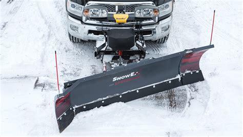 speedwing  snow plow snowex