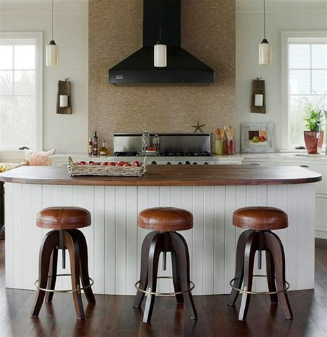 island for kitchen with stools 22 unique kitchen bar stool design ideas 183 dwelling decor