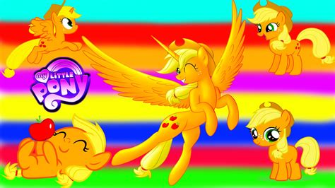 My Little Pony Transforms   Princess Applejack Baby Teen