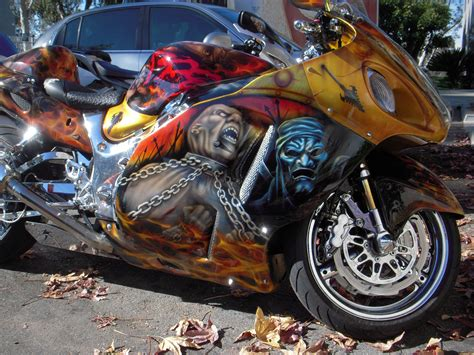 Motorradlackierungen Bilder by Custom Paint Motorcycle Motorcycle Custom