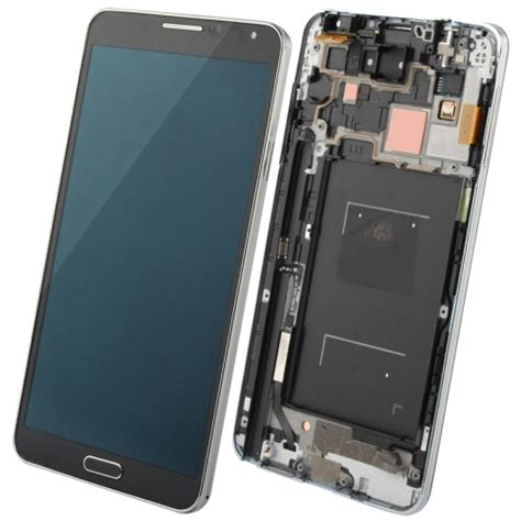 display samsung galaxy note 3 lcd display touch screen digitizer assembly with frame replacement for samsung galaxy note iii