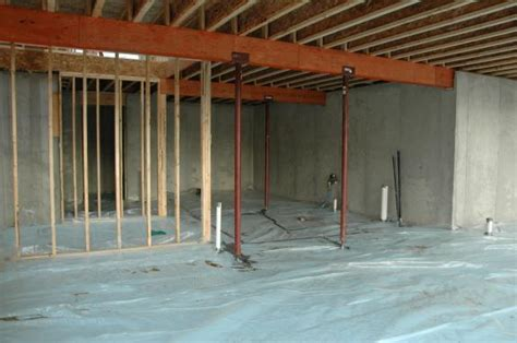water basement slab basement slab insulation middleton green home