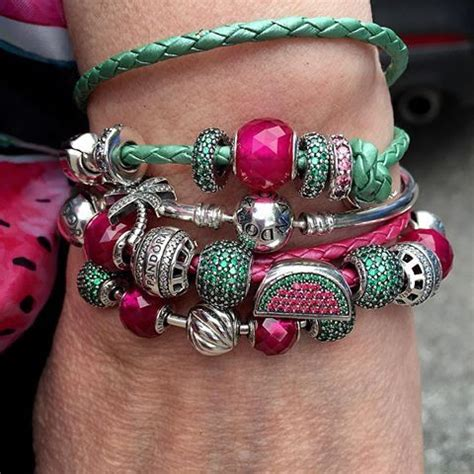 Pav Watermelon Charm P 916 goes for a slice of pandora watermelon and yes the mcctrish that is bracelets