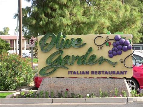 Olive Garden Metro Center does your customer service shine or it s check up