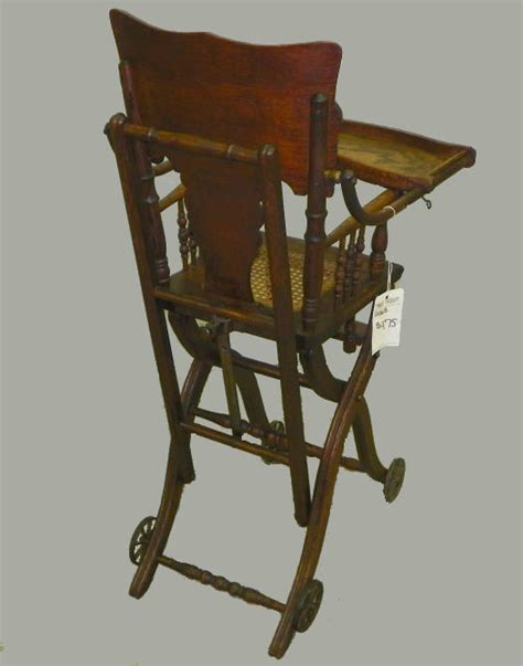 Antique Stroller High Chair by Bargain S Antiques 187 Archive Antique Oak High