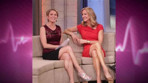 Amy Robach And Lara Spencer The Hollywood Gossip Short | amy robach slams lara spencer as shameless flirt gma feud